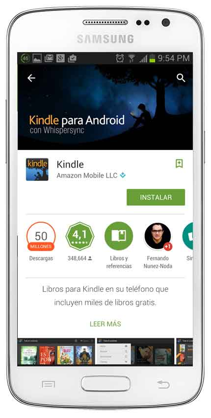 kindle para Android