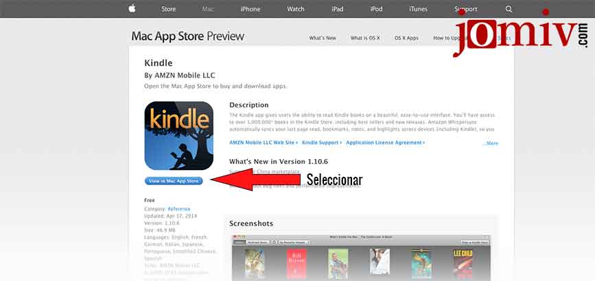 Downloading the kindle app for your PC or Mac | José Miguel