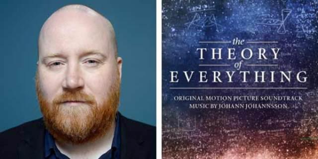 Globos de Oro 2015 Johann Johannsson por The Theory of Everything