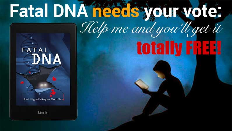 Fatal DNA: a thriller from Jose Miguel Vasquez Gonzalez
